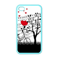 Love Song Apple Iphone 4 Case (color) by Valentinaart