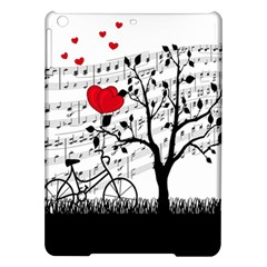 Love Song Ipad Air Hardshell Cases by Valentinaart