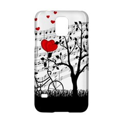 Love Song Samsung Galaxy S5 Hardshell Case  by Valentinaart