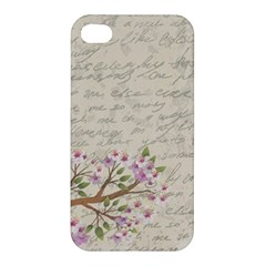 Cherry Blossom Apple Iphone 4/4s Premium Hardshell Case by Valentinaart