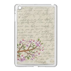 Cherry Blossom Apple Ipad Mini Case (white) by Valentinaart