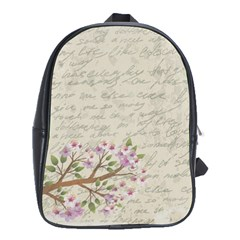 Cherry Blossom School Bags (xl)  by Valentinaart