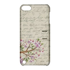 Cherry Blossom Apple Ipod Touch 5 Hardshell Case With Stand by Valentinaart