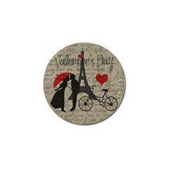 Love Letter   Paris Golf Ball Marker (10 Pack) by Valentinaart