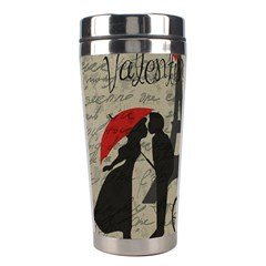 Love Letter   Paris Stainless Steel Travel Tumblers by Valentinaart