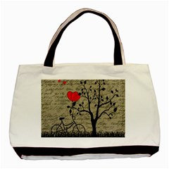 Love Letter Basic Tote Bag by Valentinaart