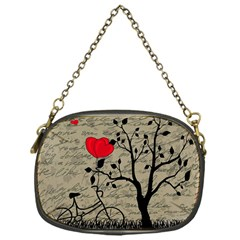 Love Letter Chain Purses (one Side)  by Valentinaart