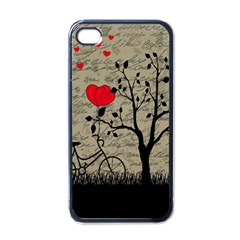 Love Letter Apple Iphone 4 Case (black) by Valentinaart