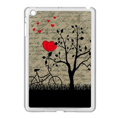 Love Letter Apple Ipad Mini Case (white) by Valentinaart