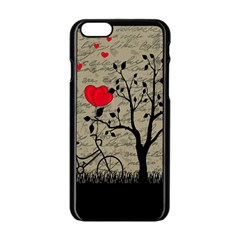 Love Letter Apple Iphone 6/6s Black Enamel Case