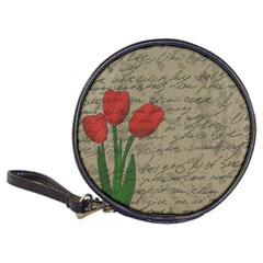 Vintage Tulips Classic 20 Cd Wallets
