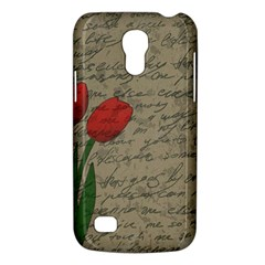 Vintage Tulips Galaxy S4 Mini by Valentinaart