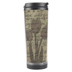 Vintage Tulips Travel Tumbler by Valentinaart