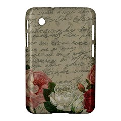 Vintage Roses Samsung Galaxy Tab 2 (7 ) P3100 Hardshell Case  by Valentinaart