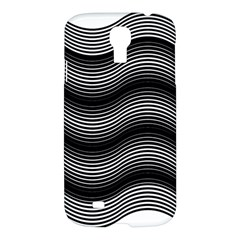 Two Layers Consisting Of Curves With Identical Inclination Patterns Samsung Galaxy S4 I9500/i9505 Hardshell Case by Simbadda