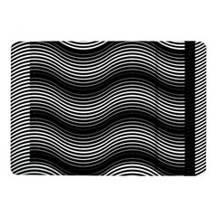 Two Layers Consisting Of Curves With Identical Inclination Patterns Samsung Galaxy Tab Pro 10 1  Flip Case