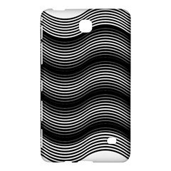 Two Layers Consisting Of Curves With Identical Inclination Patterns Samsung Galaxy Tab 4 (8 ) Hardshell Case  by Simbadda