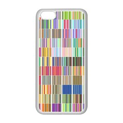 Overlays Graphicxtras Patterns Apple Iphone 5c Seamless Case (white) by Simbadda