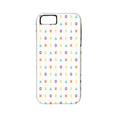 Sign Pattern Apple Iphone 5 Classic Hardshell Case (pc+silicone) by Simbadda
