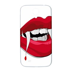 Mouth Jaw Teeth Vampire Blood Samsung Galaxy S4 I9500/i9505  Hardshell Back Case