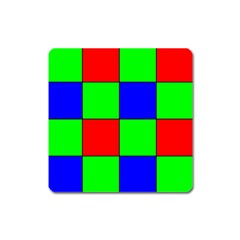 Bayer Pattern Square Magnet