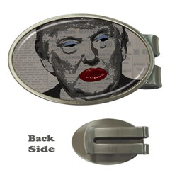Transgender President    Money Clips (oval)  by Valentinaart