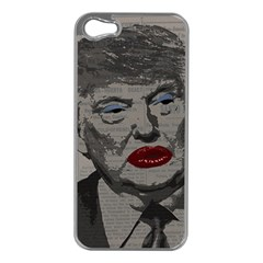Transgender President    Apple Iphone 5 Case (silver) by Valentinaart
