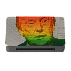 Rainbow Trump  Memory Card Reader With Cf by Valentinaart