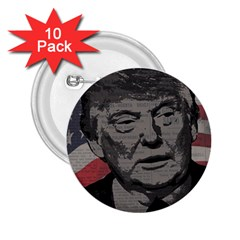 Trump 2 25  Buttons (10 Pack)  by Valentinaart