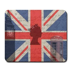 Vintage London Large Mousepads