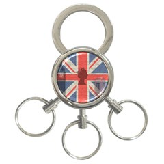 Vintage London 3 Ring Key Chains by Valentinaart