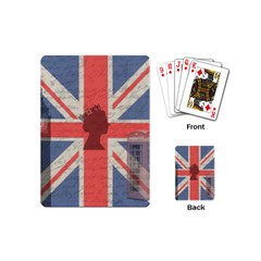 Vintage London Playing Cards (mini)  by Valentinaart