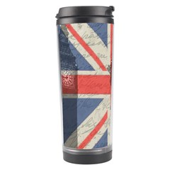 Vintage London Travel Tumbler by Valentinaart