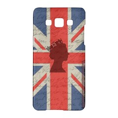 Vintage London Samsung Galaxy A5 Hardshell Case  by Valentinaart