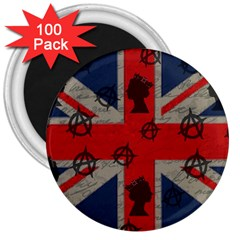 United Kingdom  3  Magnets (100 Pack) by Valentinaart