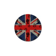 United Kingdom  Golf Ball Marker (10 Pack) by Valentinaart