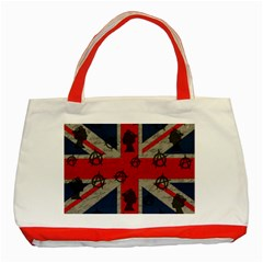United Kingdom  Classic Tote Bag (red) by Valentinaart