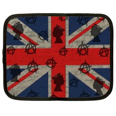 United Kingdom  Netbook Case (large) by Valentinaart