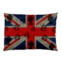 United Kingdom  Pillow Case (two Sides) by Valentinaart