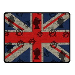 United Kingdom  Double Sided Fleece Blanket (small)  by Valentinaart