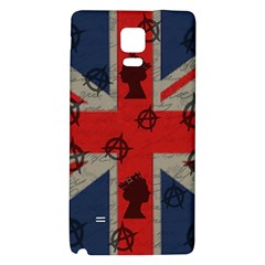 United Kingdom  Galaxy Note 4 Back Case by Valentinaart