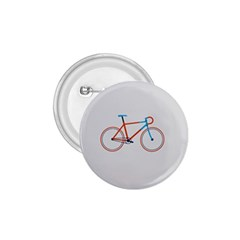 Bicycle Sports Drawing Minimalism 1 75  Buttons by Simbadda