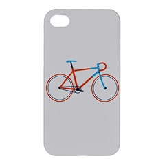 Bicycle Sports Drawing Minimalism Apple Iphone 4/4s Premium Hardshell Case by Simbadda