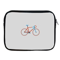 Bicycle Sports Drawing Minimalism Apple Ipad 2/3/4 Zipper Cases