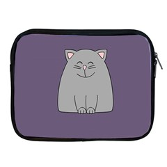 Cat Minimalism Art Vector Apple Ipad 2/3/4 Zipper Cases by Simbadda