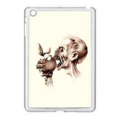 Zombie Apple Bite Minimalism Apple Ipad Mini Case (white) by Simbadda