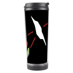 Monster Face Drawing Paint Travel Tumbler