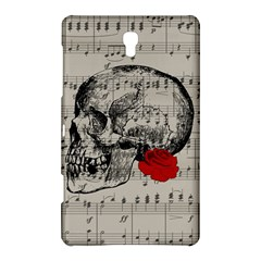 Skull And Rose  Samsung Galaxy Tab S (8 4 ) Hardshell Case  by Valentinaart