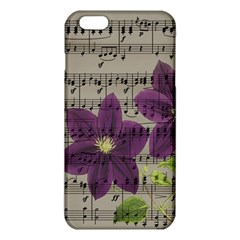 Vintage Purple Flowers Iphone 6 Plus/6s Plus Tpu Case by Valentinaart
