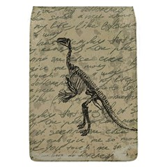 Dinosaur Skeleton Flap Covers (l)  by Valentinaart